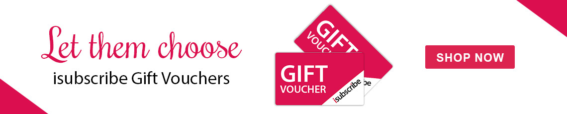 isubscribe Gift Vouchers